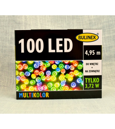 Lampki LED multikolor 100L...